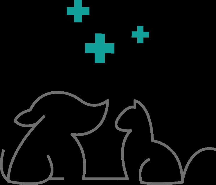 logo du Cabinet Vétérinaire des Hauts de Saint-Aubin